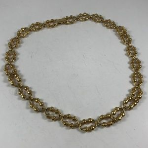 Vintage Avon Gold Tone Necklace, Vintage Jewelry